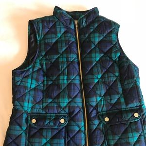 Jackets & Blazers - Plaid Vest